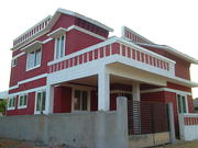 2 BHK new house for rent in AUrovil main road 1 Km from ECR
