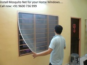 Mosquito Net for windows & doors in different models — Pondicherry