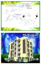 Flats for Sale,  Lawspet,  Airport Road,  Pondicherry,  India