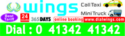 Wings Call Taxi-24 Hours Taxi, Complete Comfort