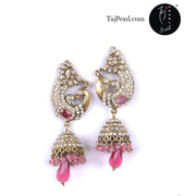 Designer Victorian Earrings from online store Taj Pearl