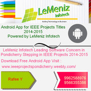 IEEE Projects in Pondicherry