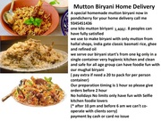 mutton biryani home delivery