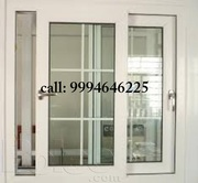Aluminium partition and Sliding window