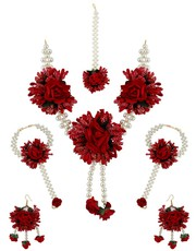 Buy  Exclusive Flower Jewellery for Haldi online